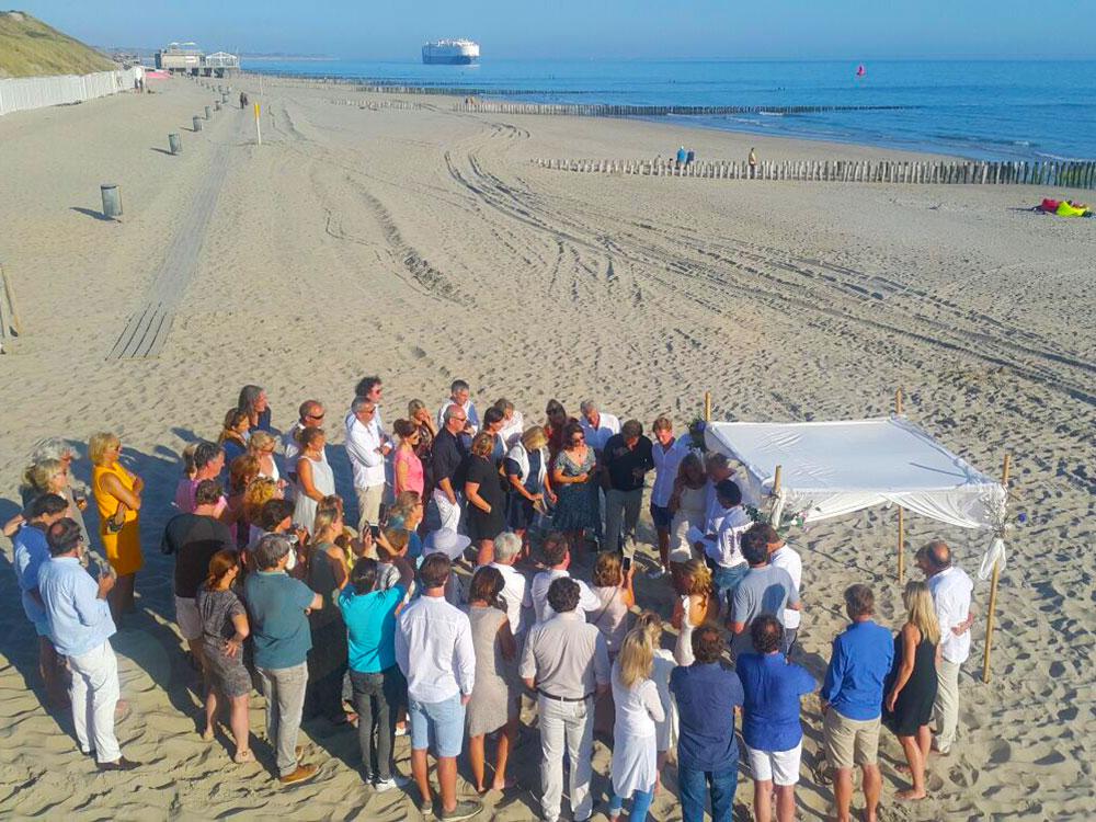 Geef je bruiloft hier en trouw op het strand!